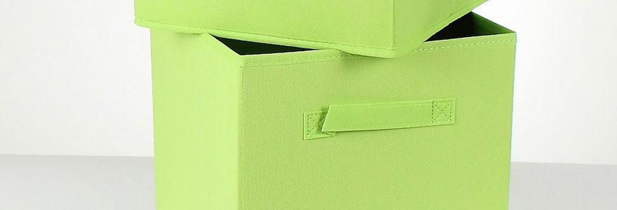 Cubes de rangement design